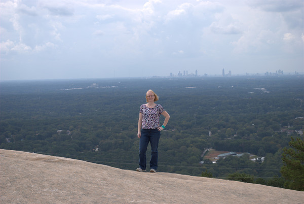 Me at Stone Mountain, 9/28/2012