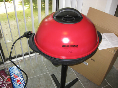 My George Foreman electric grill
