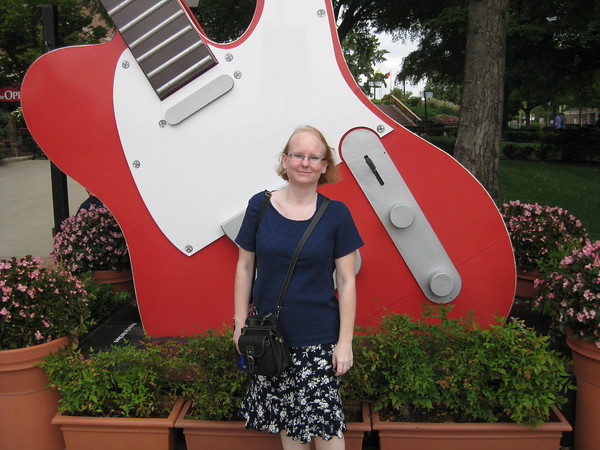 Me at the Grand Ole Opry