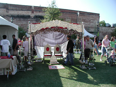 part of the India tent